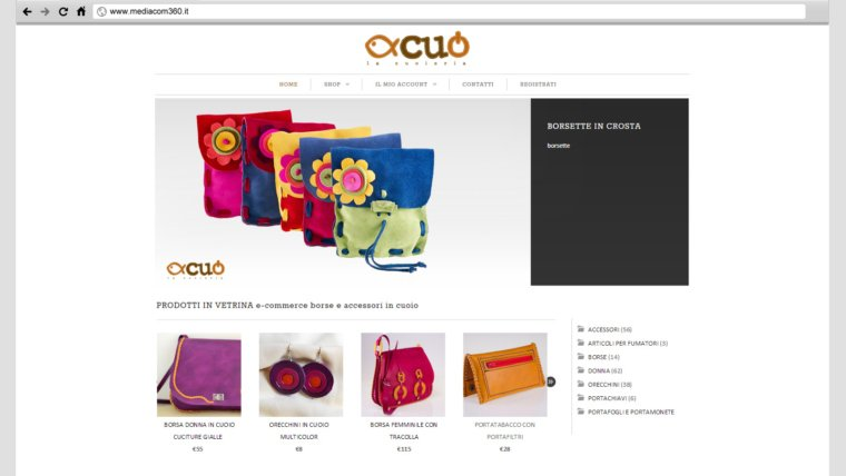 E-commerce – Cuoieria