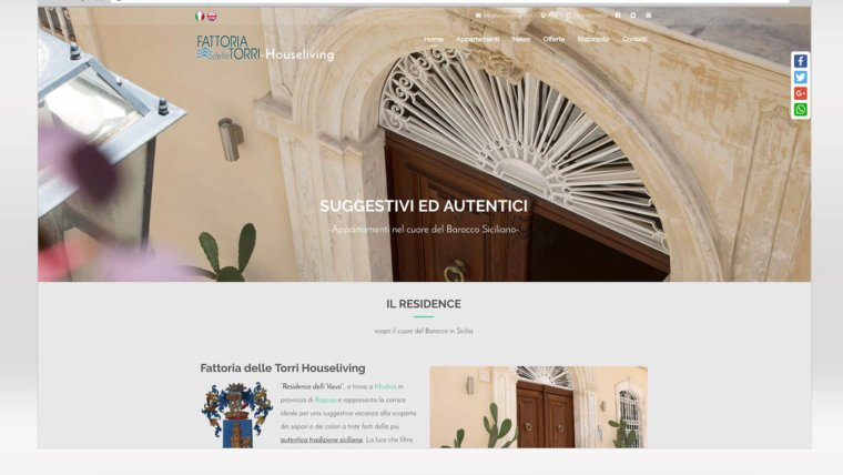 Sito web – Houseliving