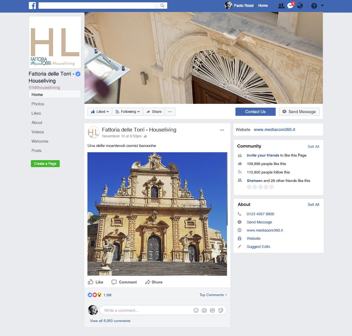 Houseliving -Facebook - Residence turistico